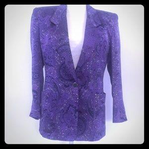 Jackets & Blazers - Lilly Sports blazer 100% Silk size S